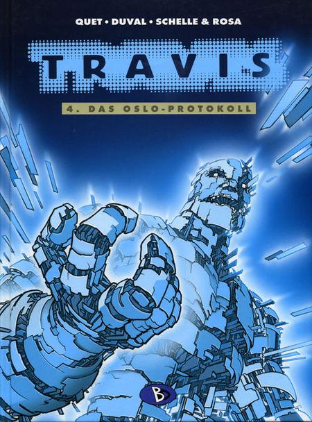 Travis 4: Das Oslo-Protokoll - Das Cover