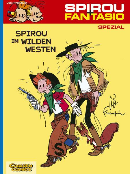 Spirou + Fantasio Spezial 5: Spirou im Wilden Westen - Das Cover