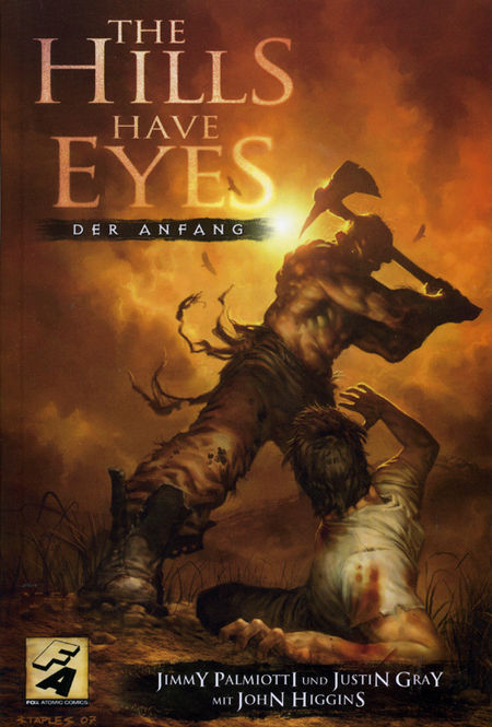 The Hills Have Eyes: Der Anfang - Das Cover