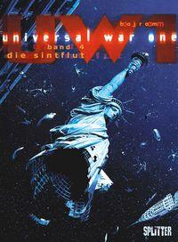 Universal War One 4: Die Sintflut - Das Cover