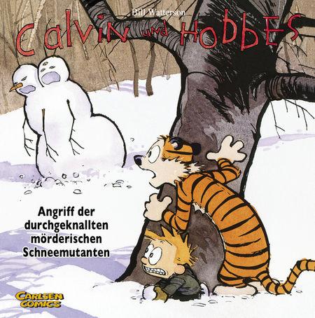 Calvin und Hobbes 7: Angriff der durchgeknallten mörderischen Schneemutanten - Das Cover