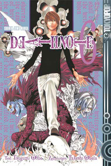 Death Note 6 - Das Cover