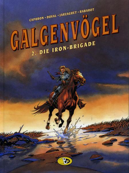 Galgenvögel 2: Die Iron-Brigade - Das Cover