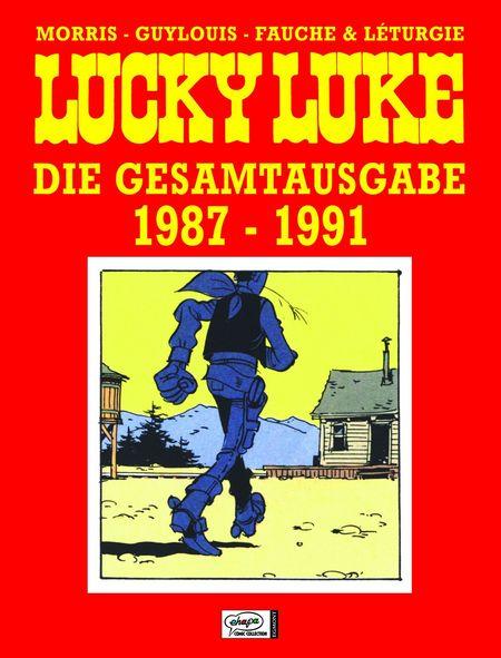 Lucky Luke: Die Gesamtausgabe 20: 1987 – 1991 - Das Cover