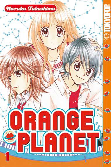 Orange Planet 1 - Das Cover