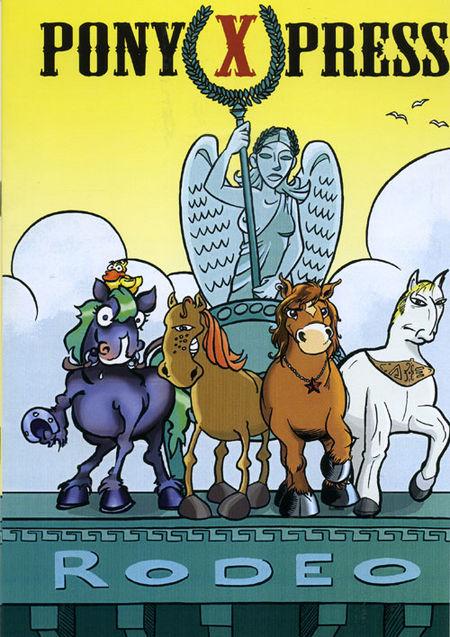 Rodeo - Das Cover