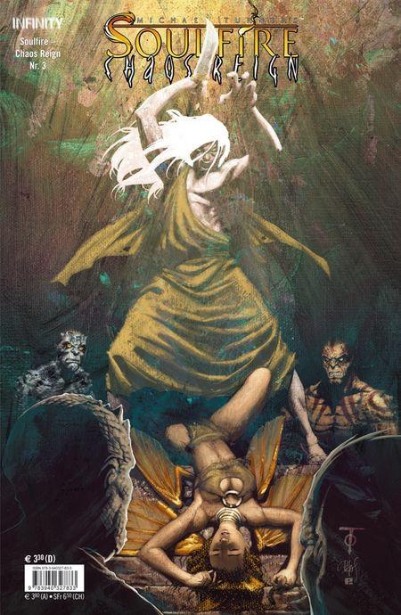 Soulfire - Chaos Reign 3 - Das Cover