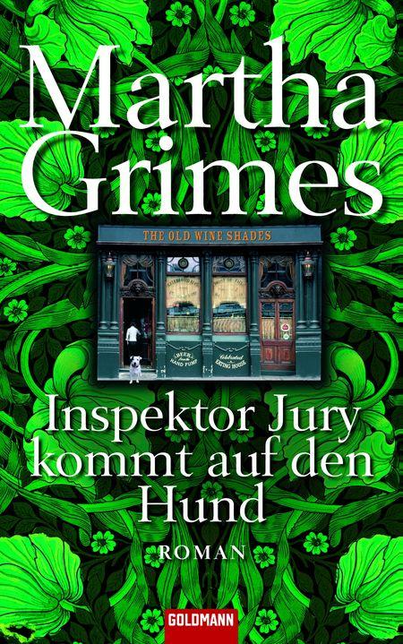 Inspektor Jury kommt auf den Hund - Das Cover