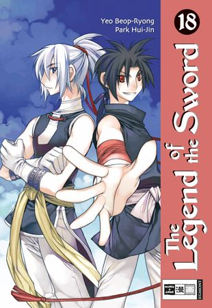 The Legend of the Sword 18 - Das Cover