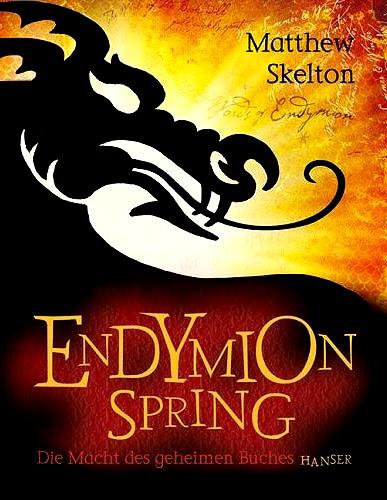 Endymion Spring - Die Macht des geheimen Buches - Das Cover