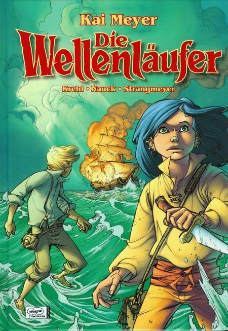 Die Wellenläufer 1 - Das Cover