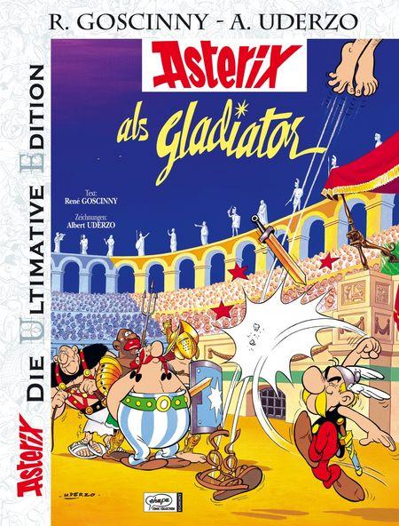 Asterix - Die Ultimative Edition 4: Asterix als Gladiator - Das Cover