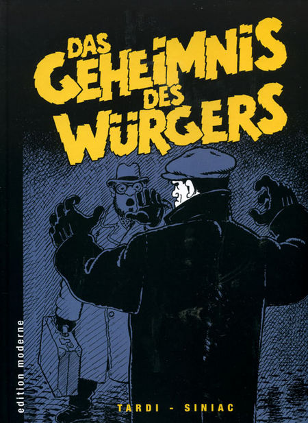 Das Geheimnis des Würgers - Das Cover