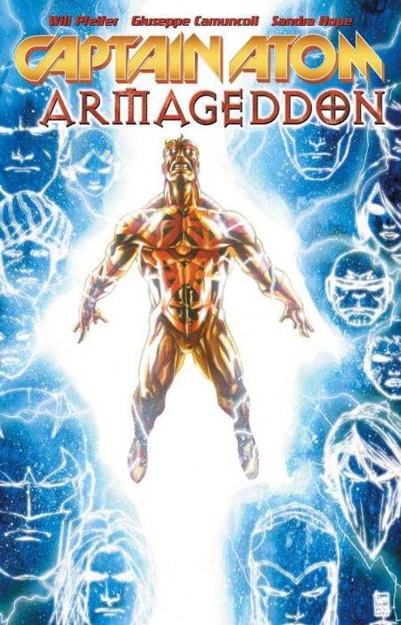 Captain Atom: Armageddon - Das Cover