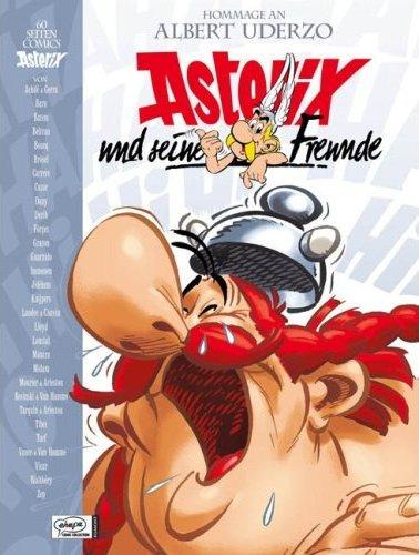 Asterix und seine Freunde - Hommage an Albert Uderzo - Das Cover