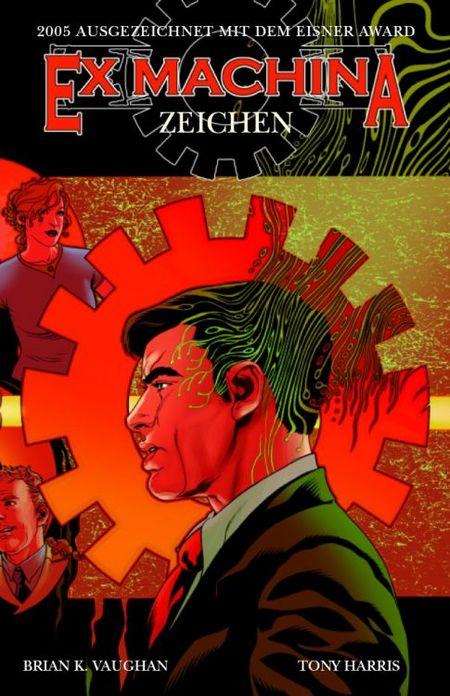 Ex Machina 2: Zeichen - Das Cover
