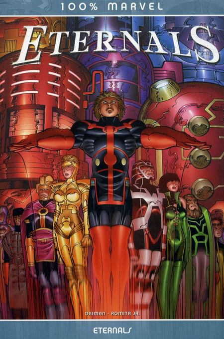 100 % Marvel 30: Eternals - Das Cover