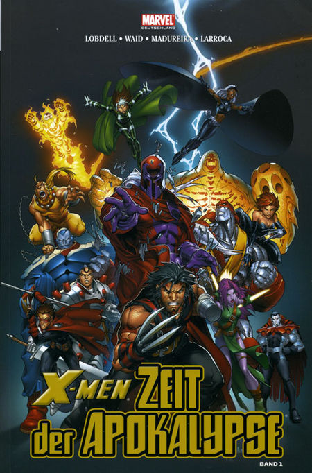X-Men: Zeit der Apokalypse 1 (von 4) - Das Cover
