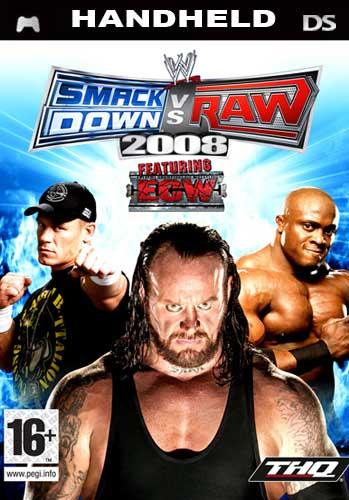 WWE Smackdown vs. Raw 2008  - Der Packshot