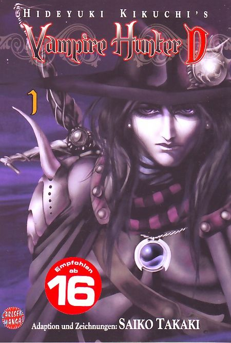 Vampire Hunter D 1 - Das Cover
