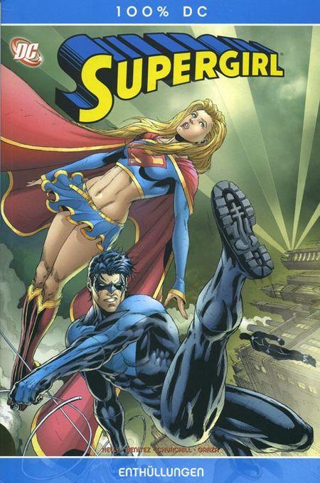 100 % DC 10: Supergirl - Enthüllungen - Das Cover