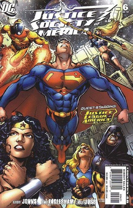Justice League Of America 3 - Das Cover