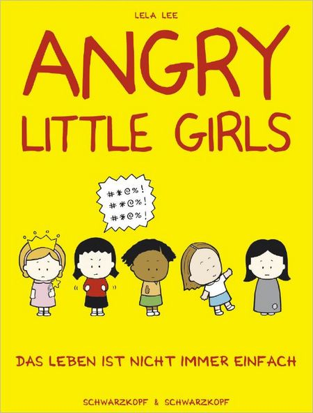 Angry Little Girls - Das Cover