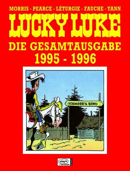 Lucky Luke Gesamtausgabe 1995-1996 - Das Cover