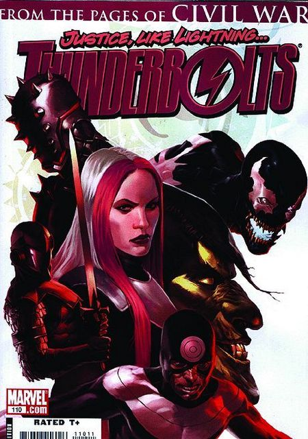 Thunderbolts 1: Vertrauen in Monster - Das Cover