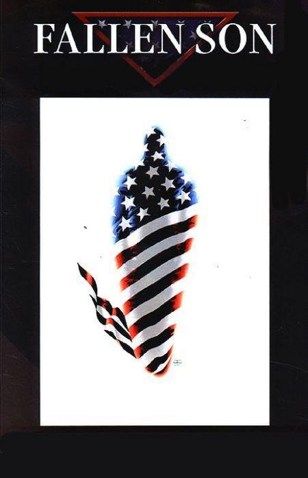 Marvel Exklusiv 71: Fallen Son – Der Tod des Captain America - Das Cover
