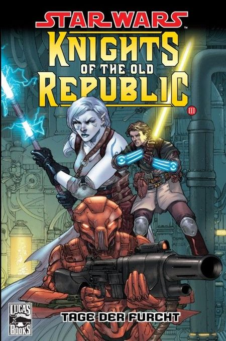 Star Wars Sonderband 41: Knights Of The Old Republic III: Tage der Furcht - Das Cover