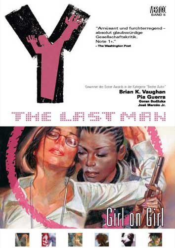 Y - The Last Man 6: Girl on Girl - Das Cover
