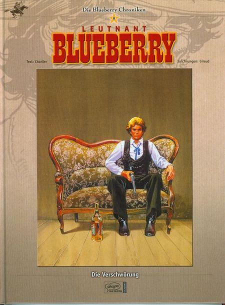 Die Blueberry Chroniken - Leunant Blueberry 8: Die Verschwörung - Das Cover