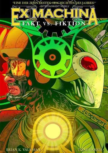 Ex Machina 3: Fakt vs. Fiktion - Das Cover