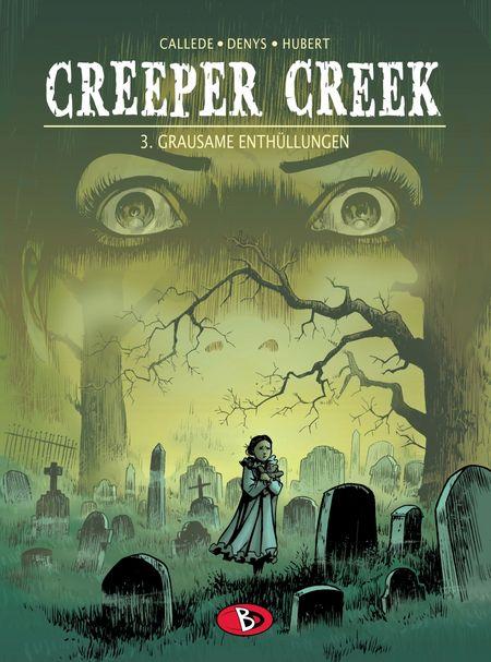 Creeper Creek 3: Grausame Enthüllungen - Das Cover