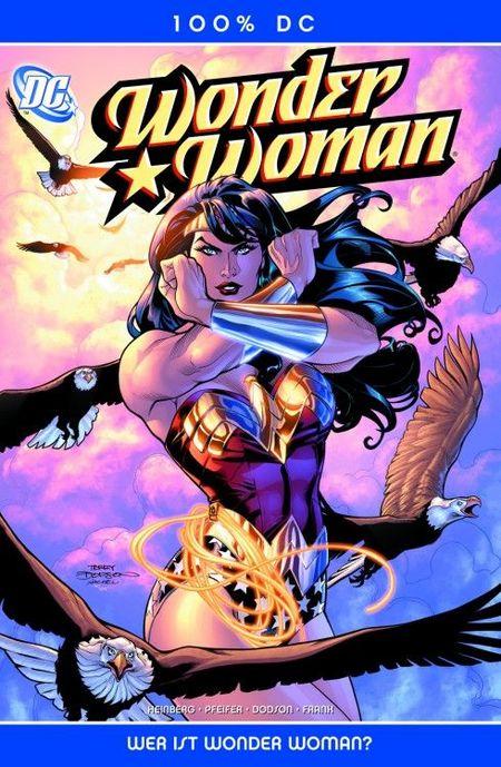 100% DC 12: Wonder Woman - Wer ist Wonder Woman? - Das Cover