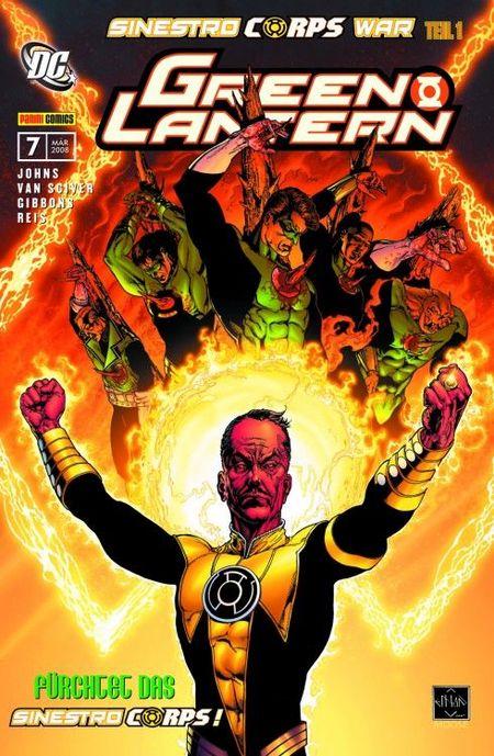 Green Lantern Sonderband 7: Sinestro Corps War 1 - Das Cover