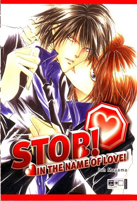 Stop! In the Name of Love! - Das Cover