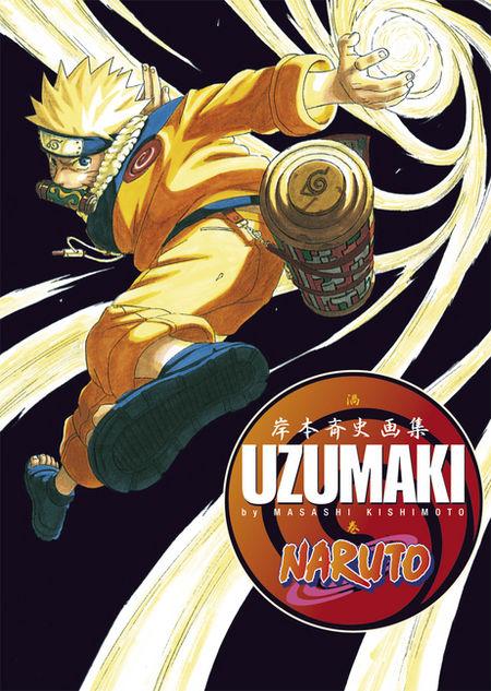 Naruto Uzumaki Artbook - Das Cover
