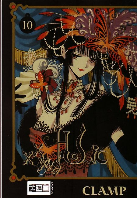 xxxHOLIC 10 - Das Cover