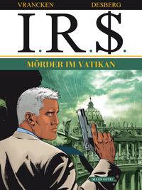 I.R.$ 10: Mörder im Vatikan - Das Cover