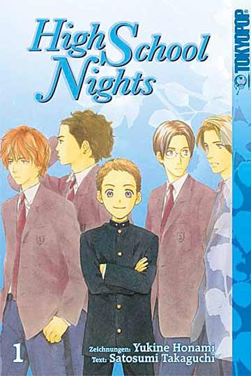 High School Nights 1 - Das Cover