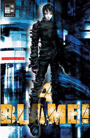 Blame 4 - Das Cover