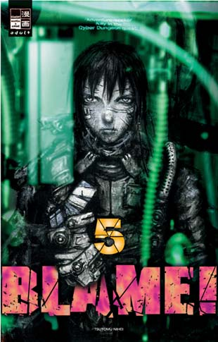 Blame 5 - Das Cover