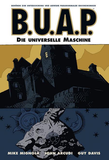 B.U.A.P. 5: Die universelle Maschine - Das Cover