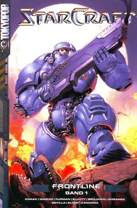 Starcraft: Frontline 1 - Das Cover