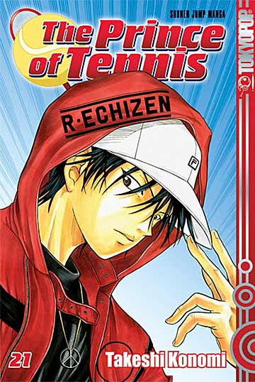 The Prince of Tennis 21 - Das Cover