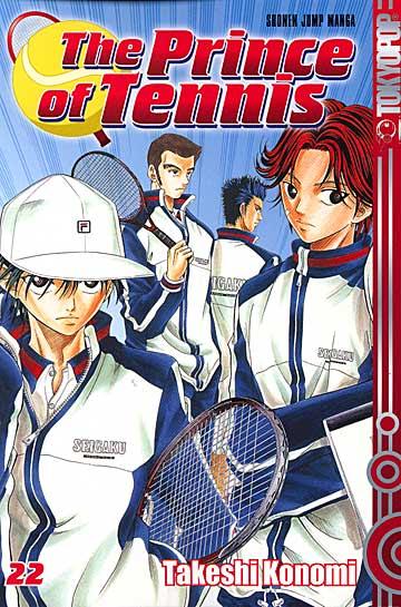 The Prince of Tennis 22 - Das Cover