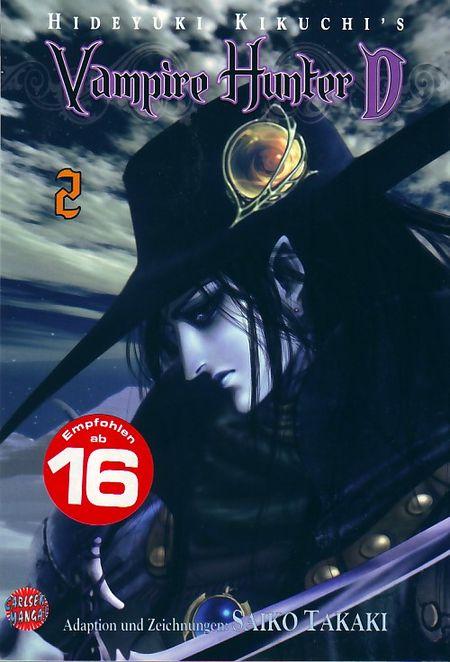 Vampire Hunter D 2 - Das Cover