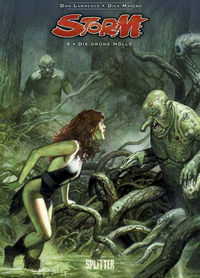 Storm 4: Die grüne Hölle - Das Cover